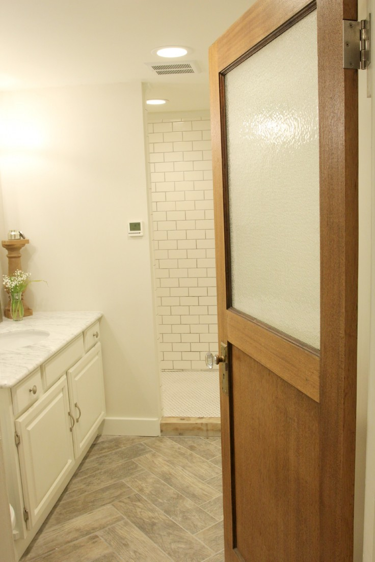 The Grit and Polish - bathroom remodel completion
