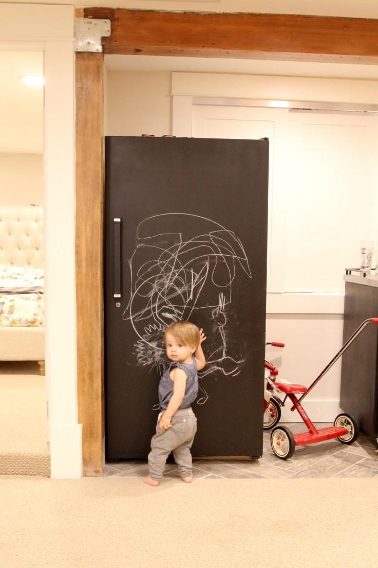 The Grit and Polish - Chalkboard Freezer Fun 2