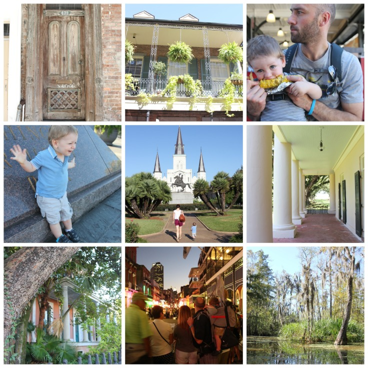 The Grit and Polish - New Orleans Collage 10-14-14