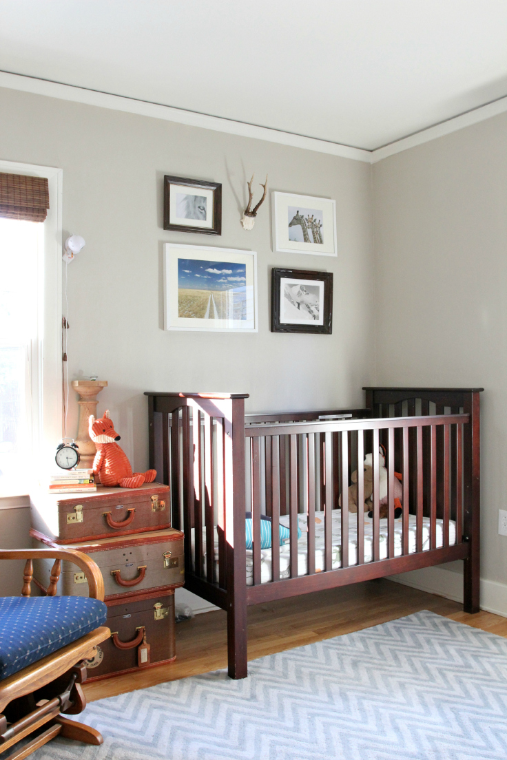 The Grit and Polish - Wilder's Nursery Crib