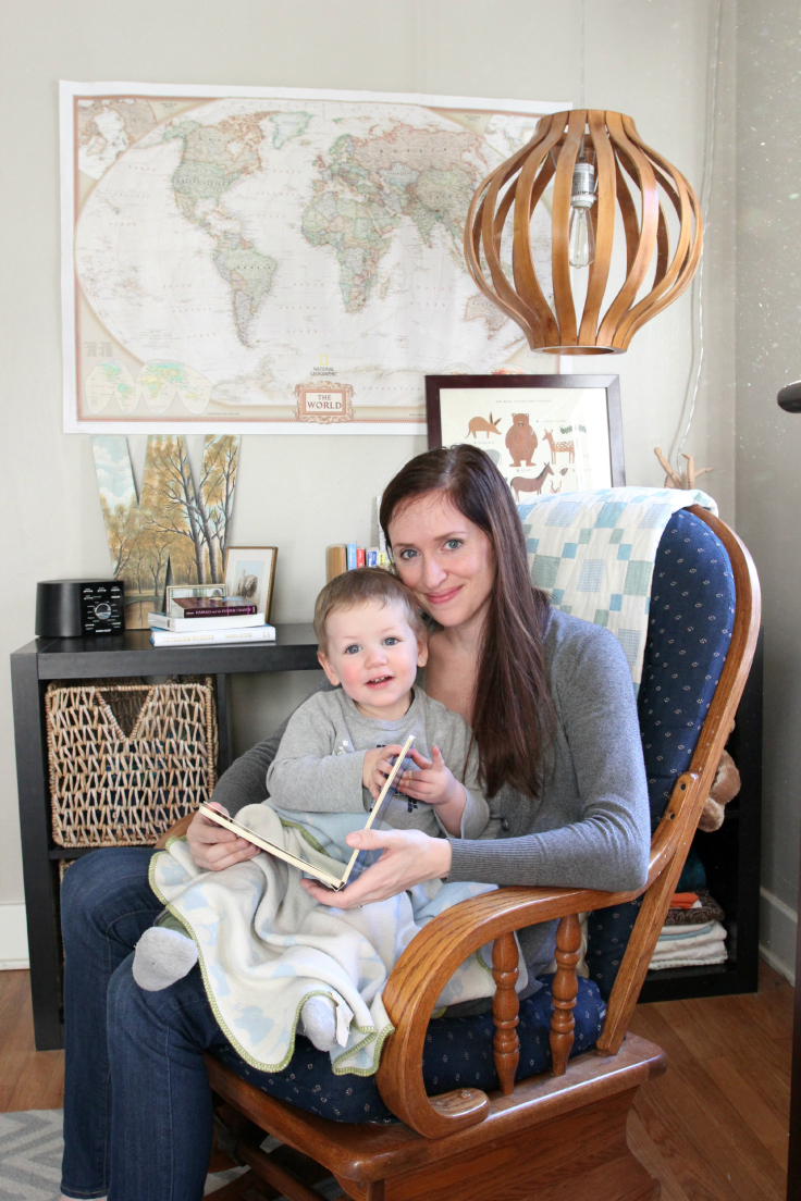 The Grit and Polish - Wilder's Nursery reading with Mama