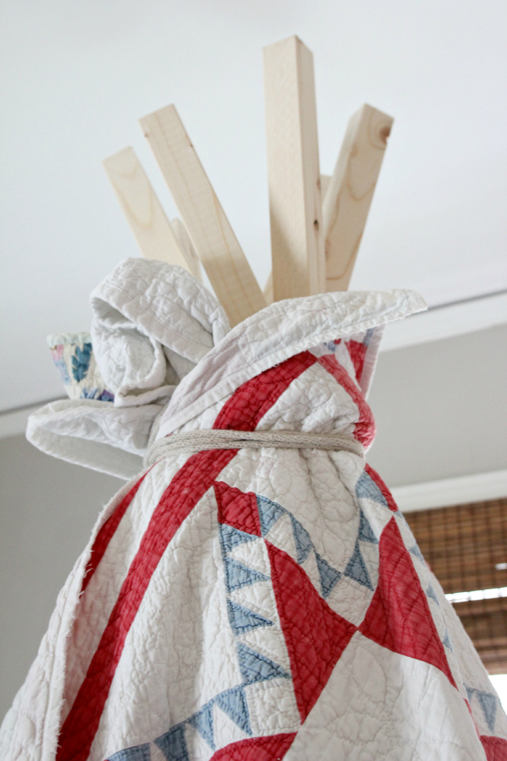 The Grit and Polish - DIY Teepee top