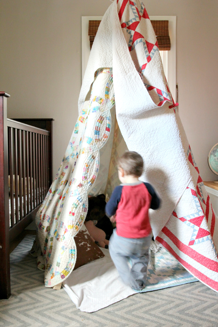 The Grit and Polish - DIY Teepee with Wilder 3