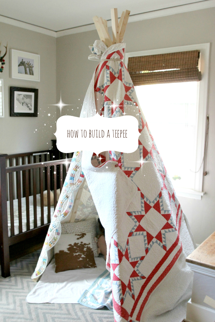 The Grit and Polish - How to build a teepee