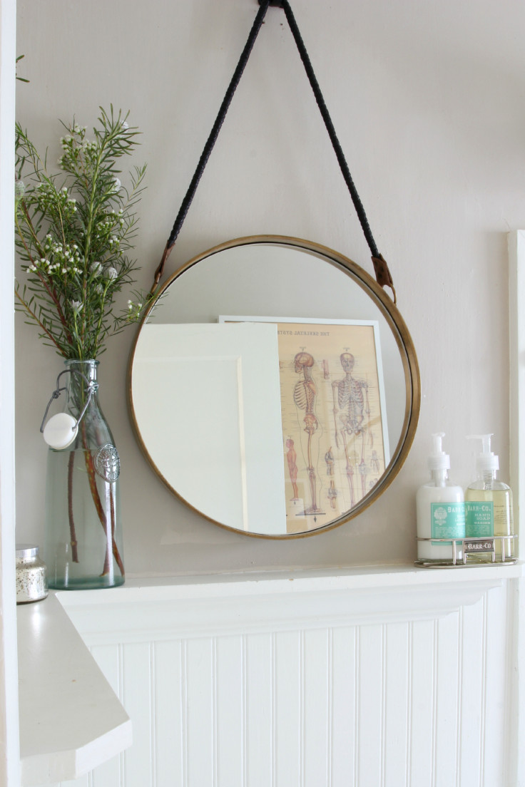 The Grit and Polish - Bathroom mirror