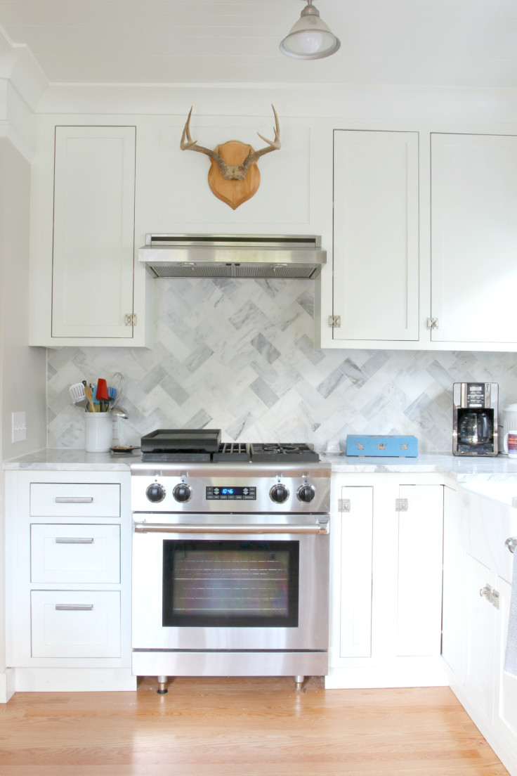 The Grit and Polish - Ravenna Kitchen Antlers