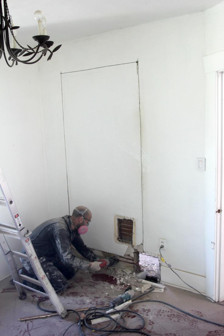 The Grit and Polish - Bedroom Demo 1