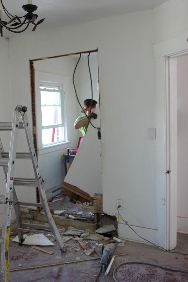 The Grit and Polish - Bedroom Demo 2