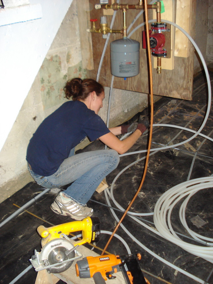 The Grit and Polish - Wallingford heated floors