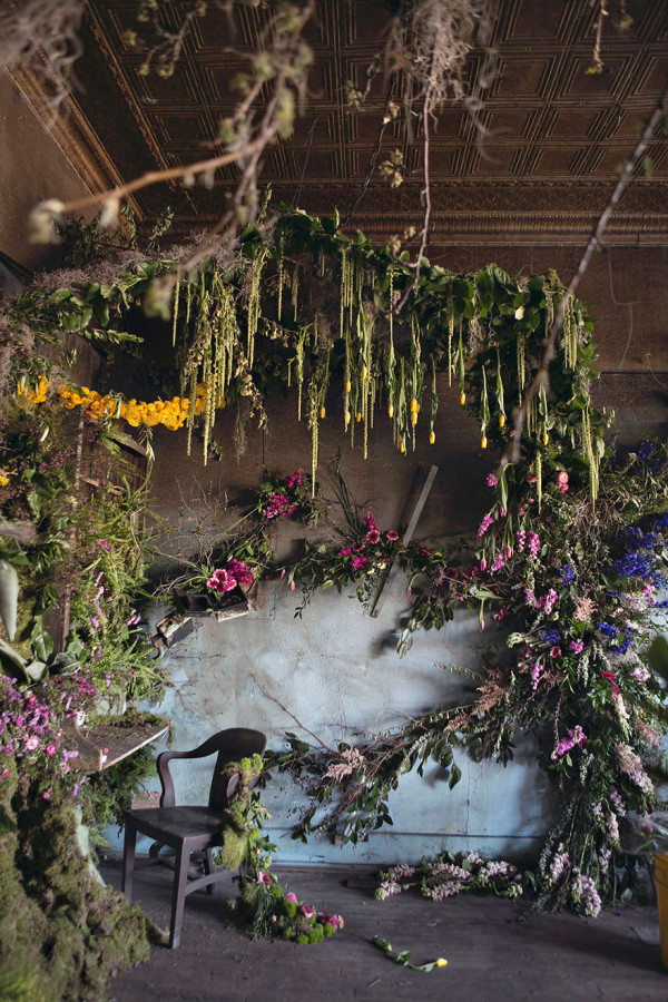 Detroit Flower House - Heather Sanders Photo, Country Living
