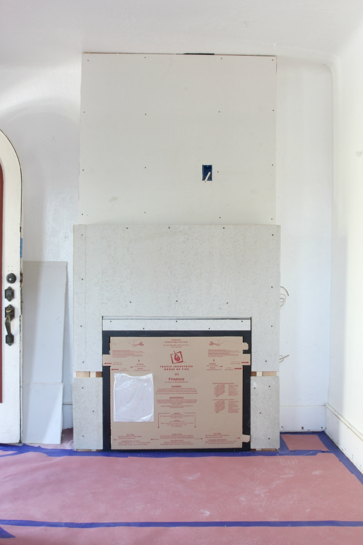 The Grit and Polish - Fireplace Construction 8