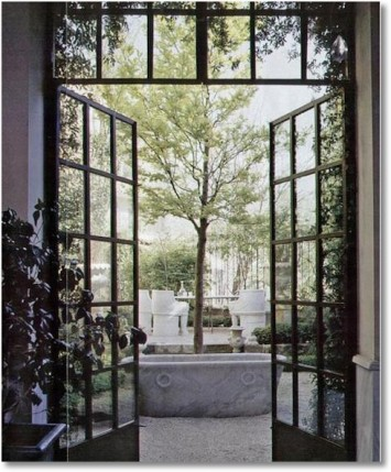 The Grit and Polish - steel doors inspiration | Remodeling Guy