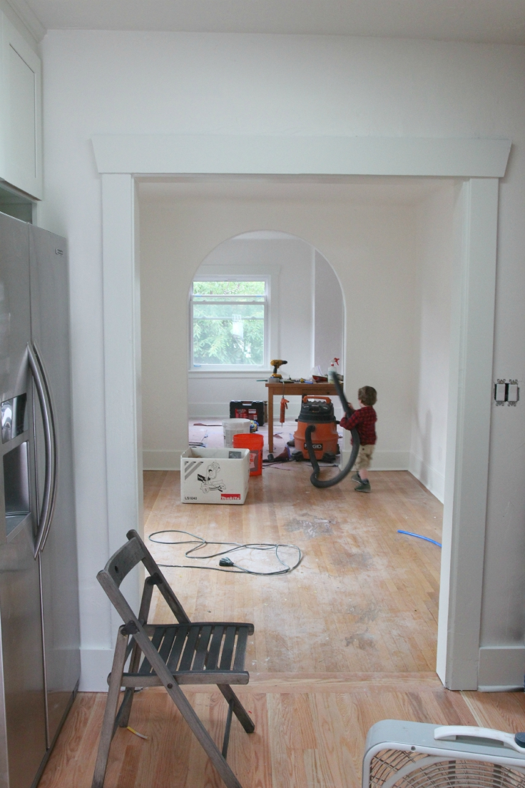 The Grit and Polish - Wall Paint Cleanup