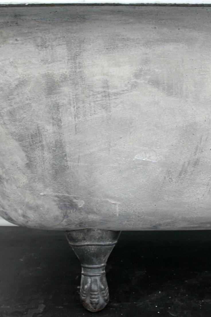 The Grit and Polish - Master Bath Clawfoot Tub