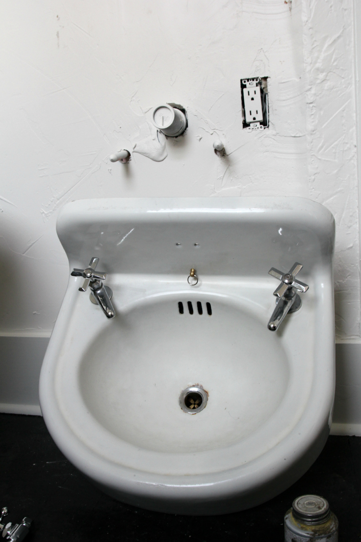 The Grit and Polish - Master Bath Sink