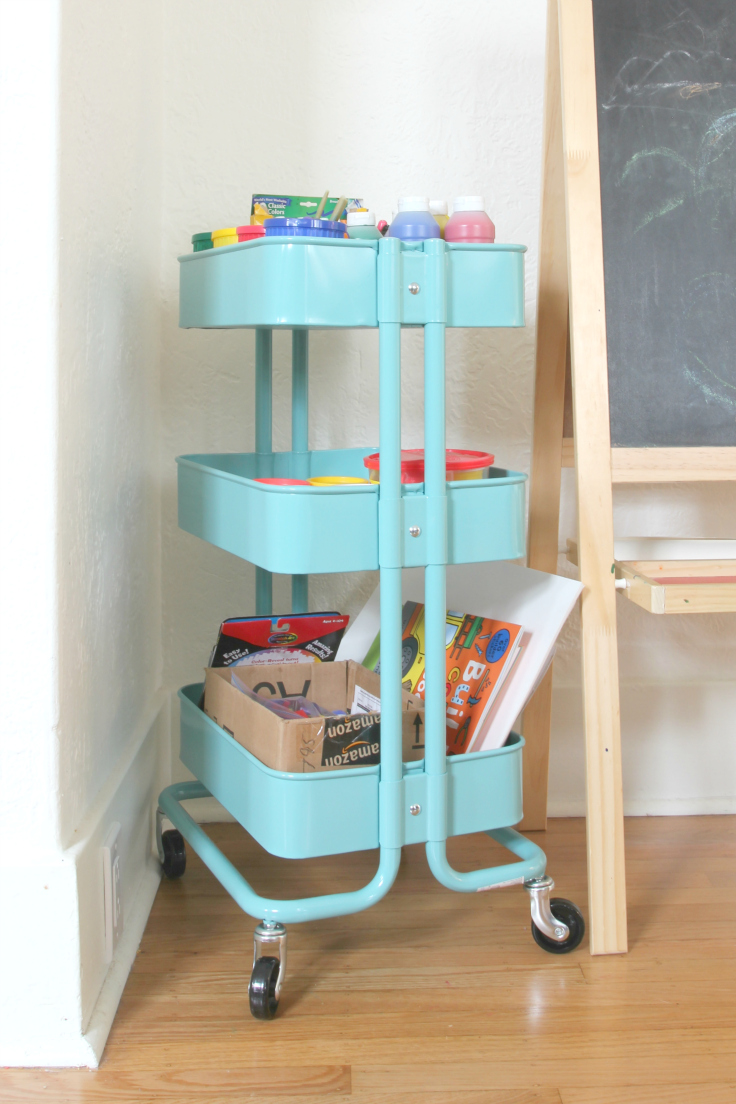 The Grit and Polish - art nook cart