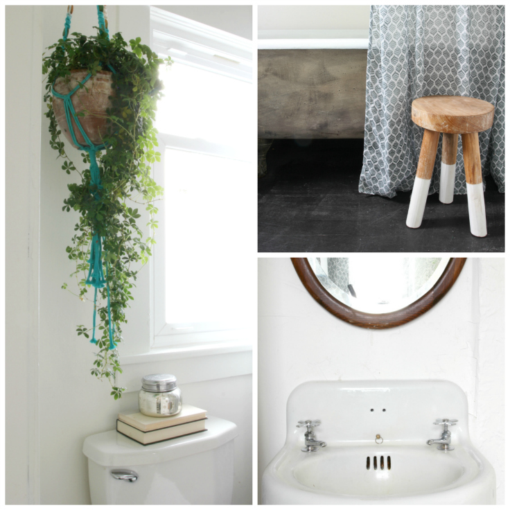 The Grit and Polish - Master Bathroom Renovation Details Collage
