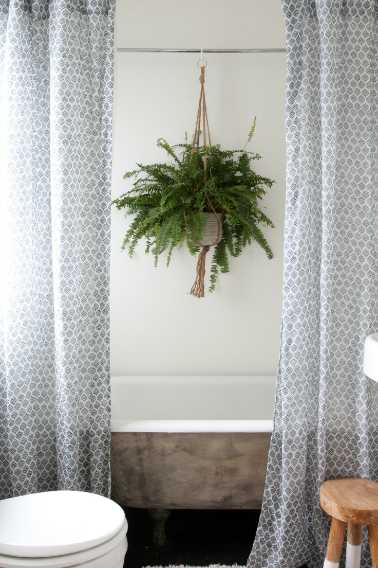 The Grit and Polish - Master Bathroom Renovation Plant Wide