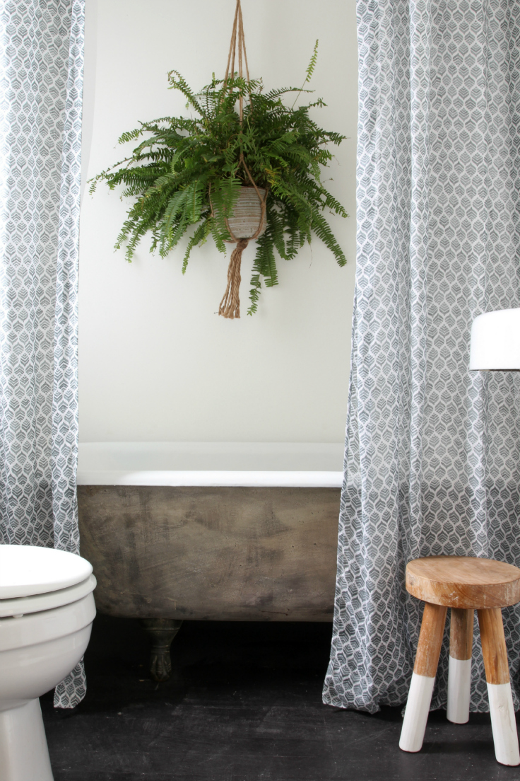 The Grit and Polish - Master Bathroom Renovation claw foot tub