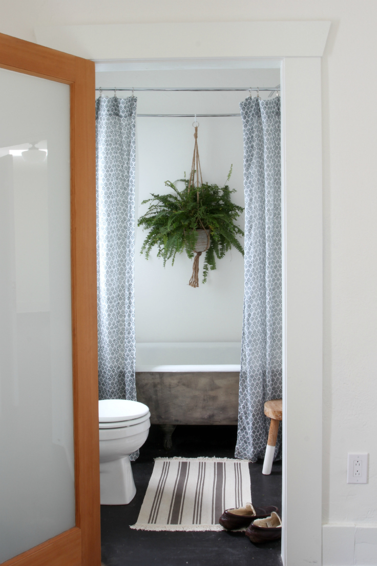 The Grit and Polish - Master Bathroom Renovation from door 2