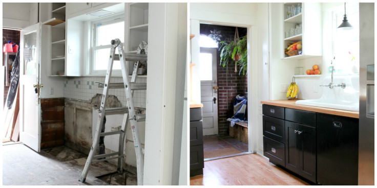 The Grit and Polish - Dexter Kitchen Before and After South