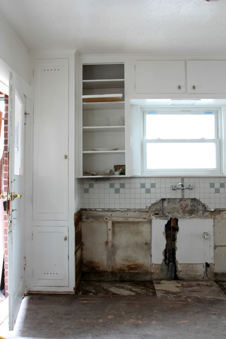 The Grit and Polish - Dexter Kitchen Remodel - Progress 3