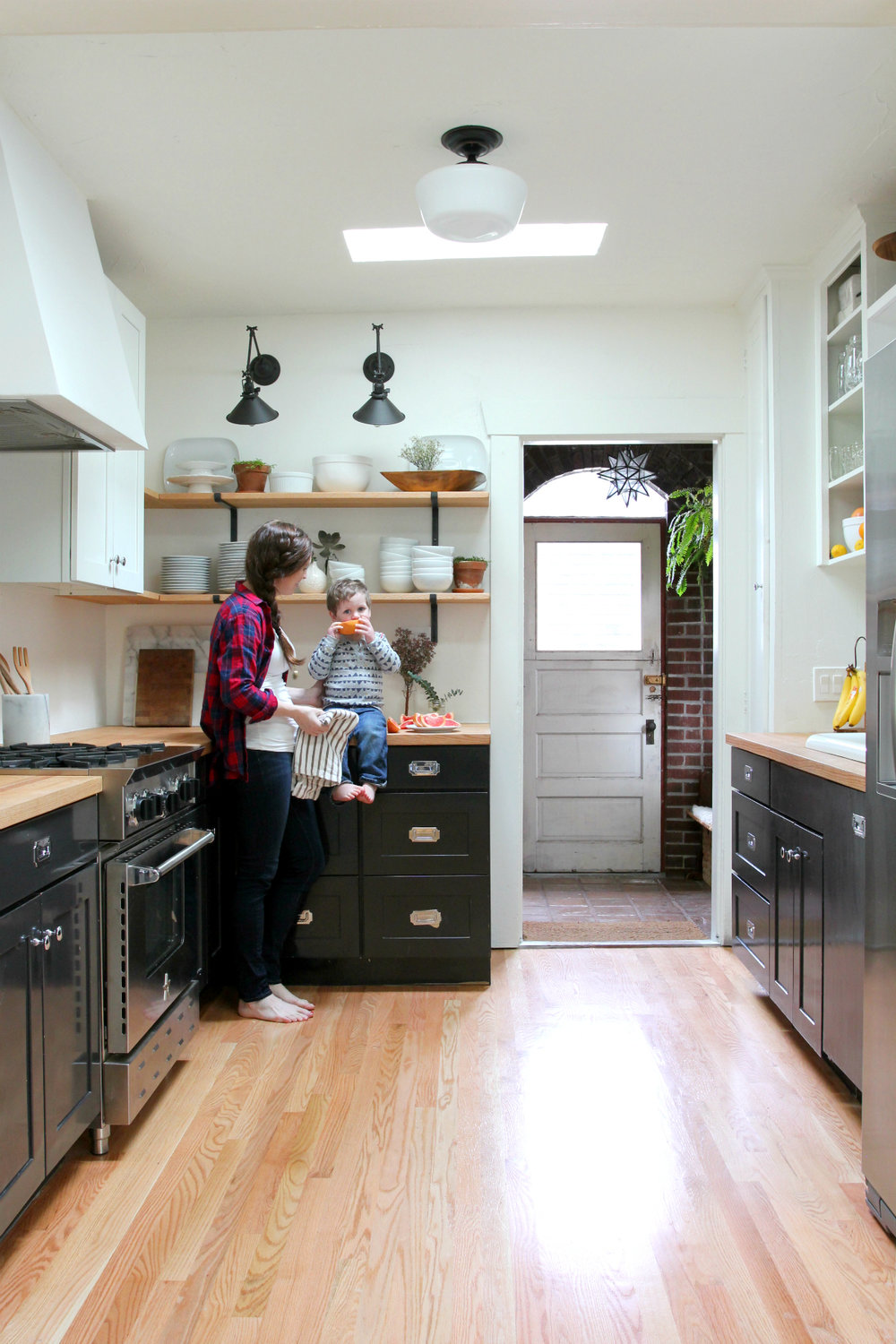 The Grit and Polish - Dexter Kitchen Remodel W and Mama