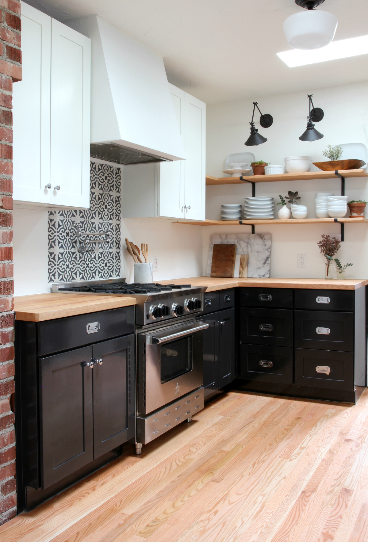 The Grit and Polish - Dexter Kitchen Remodel north