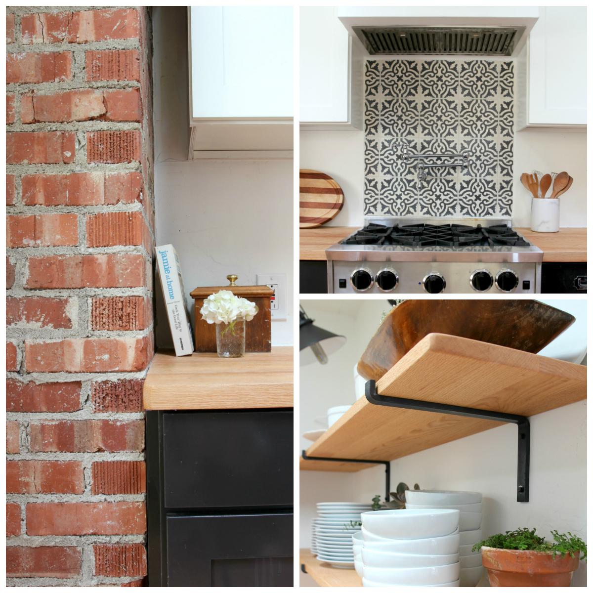 The Grit and Polish - Dexter Kitchen Renovation Details Collage 2