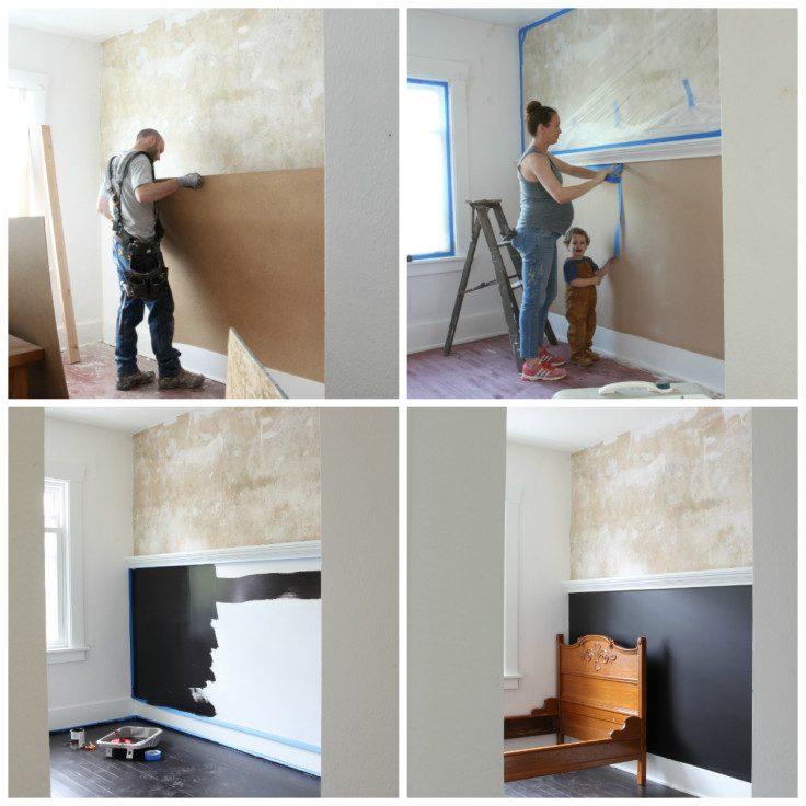 The Grit and Polish - Wilder's Room Progress Collage