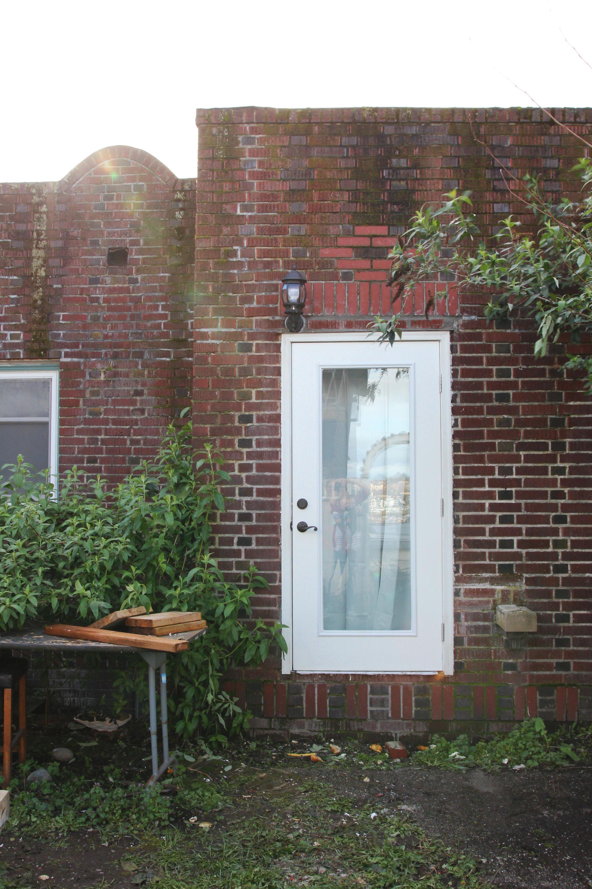 The Grit and Polish - Dexter Backyard Door Trim