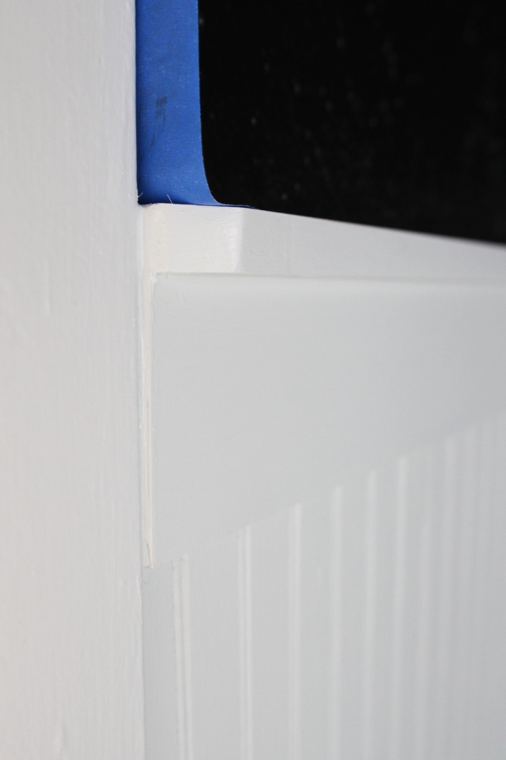The Grit and Polish - Wainscot Close Up