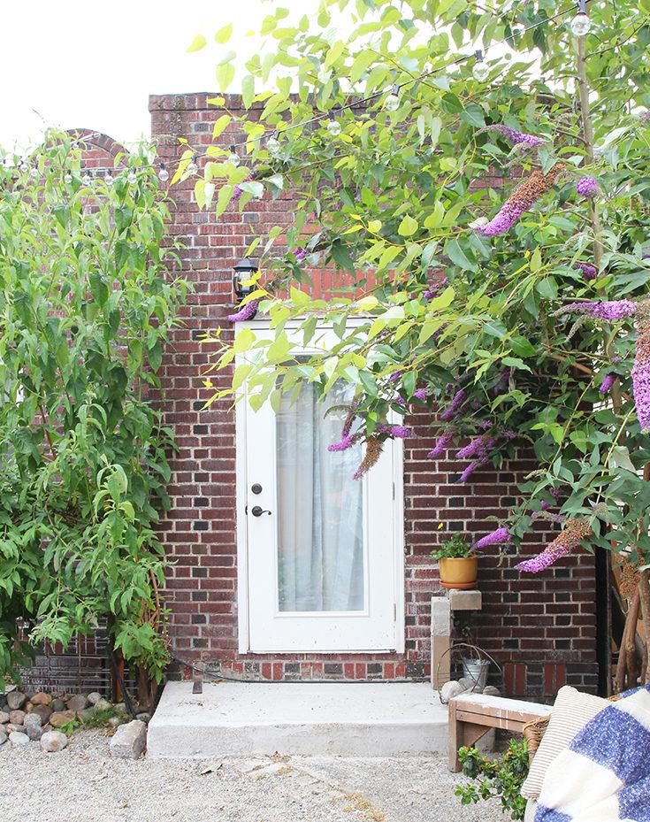 The Grit and Polish - Dexter Backyard Door