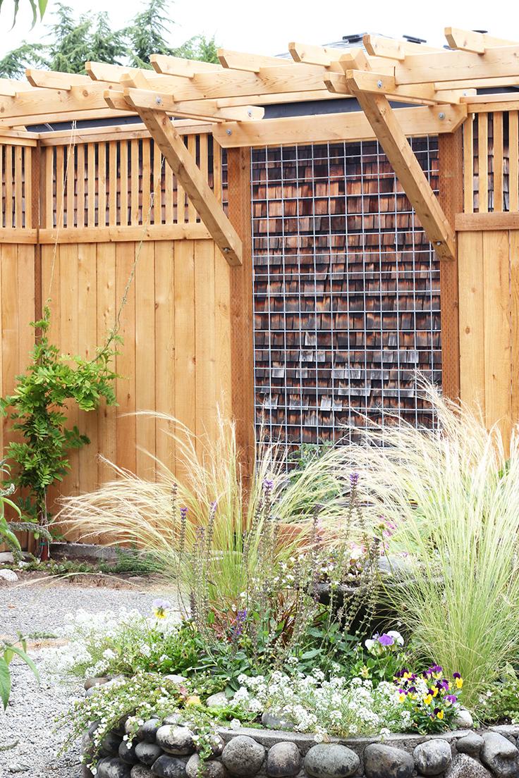 The Grit and Polish - Dexter Backyard Metal Panel