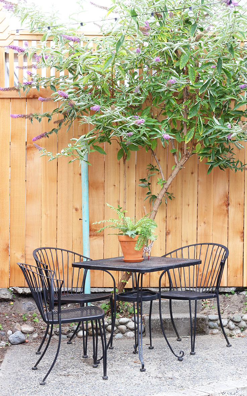 The Grit and Polish - Dexter Backyard Table