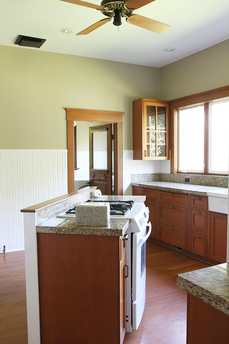 The Grit and Polish - Farmhouse Before Kitchen