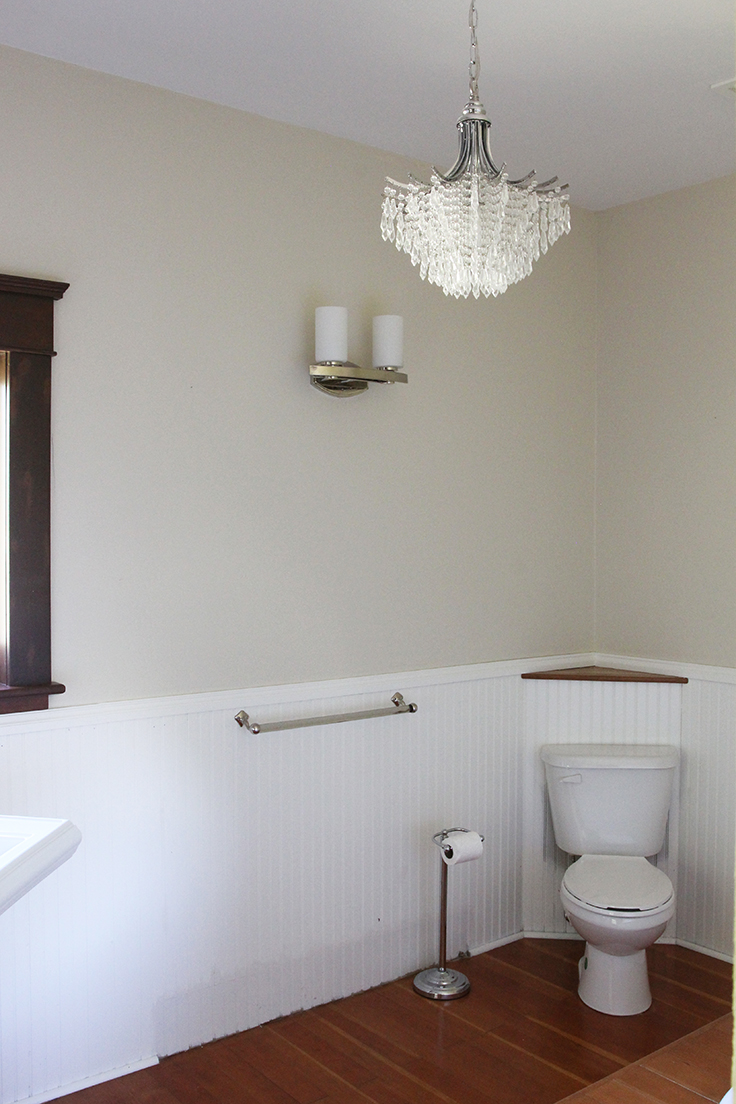 The Grit and Polish - Farmhouse Before Master Bath