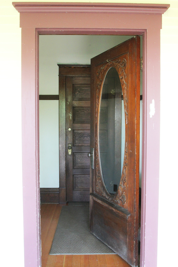 The Grit and Polish - Farmhouse front entry door
