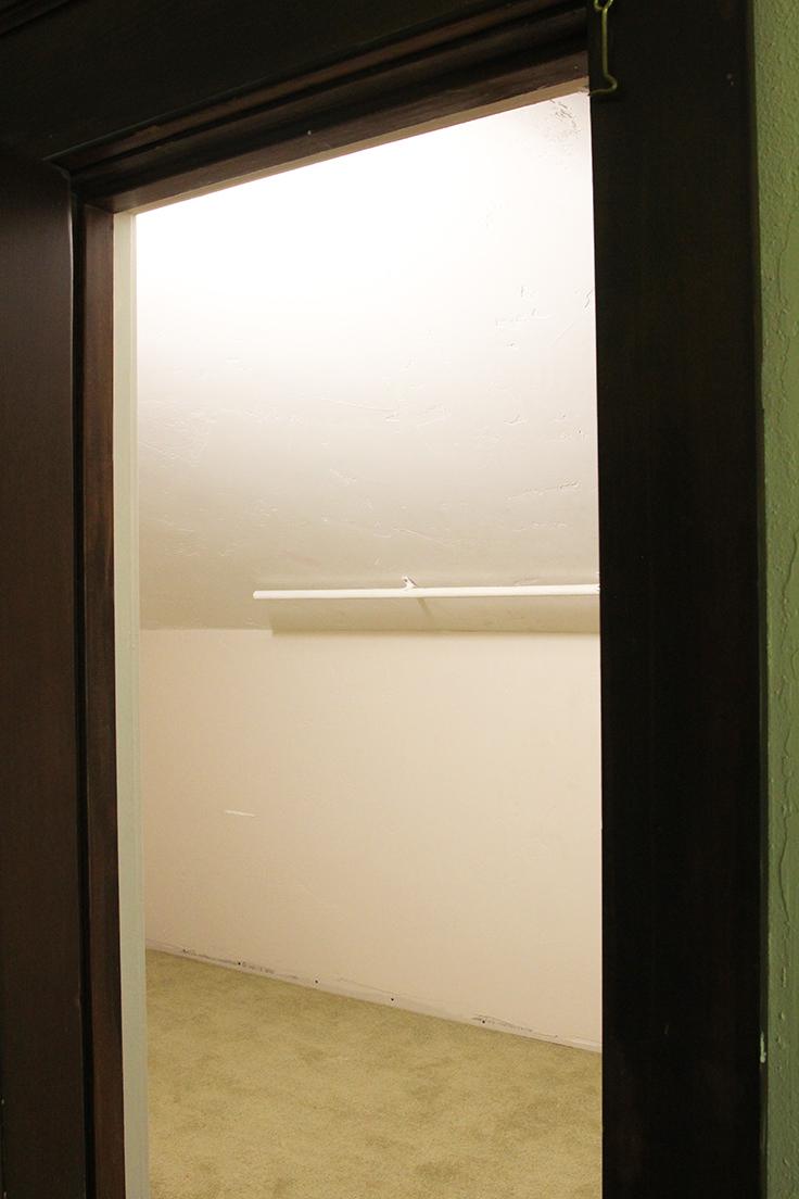 The Grit and Polish - Farmhouse Boys Room Closet