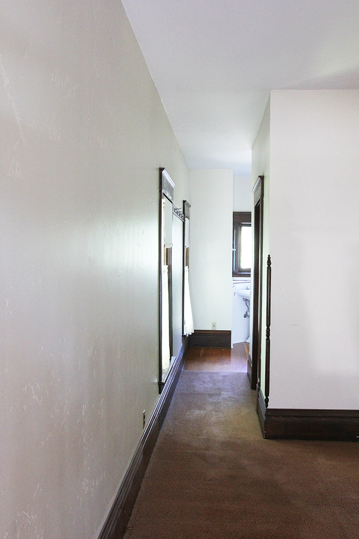 The Grit and Polish - Farmhouse Master Hallway