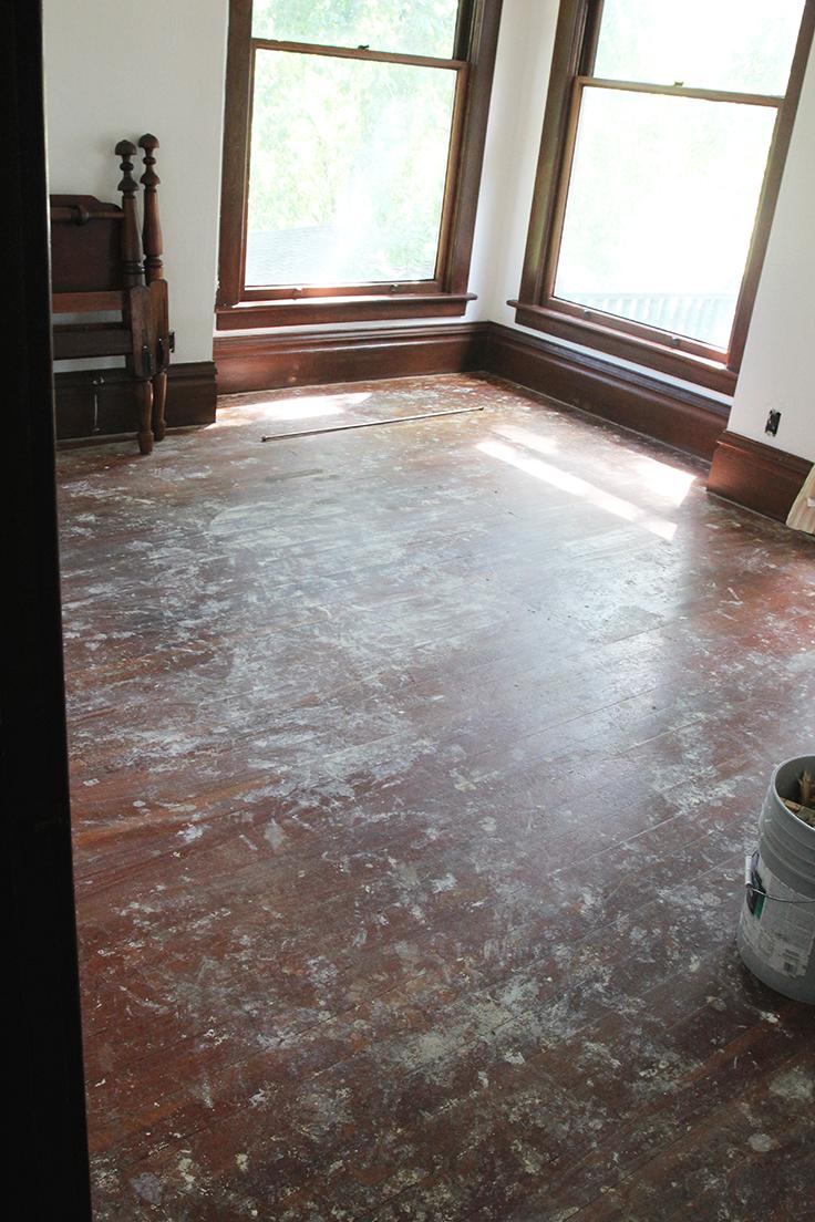 The Grit and Polish - Farmhouse Nursery Floors post Carpet