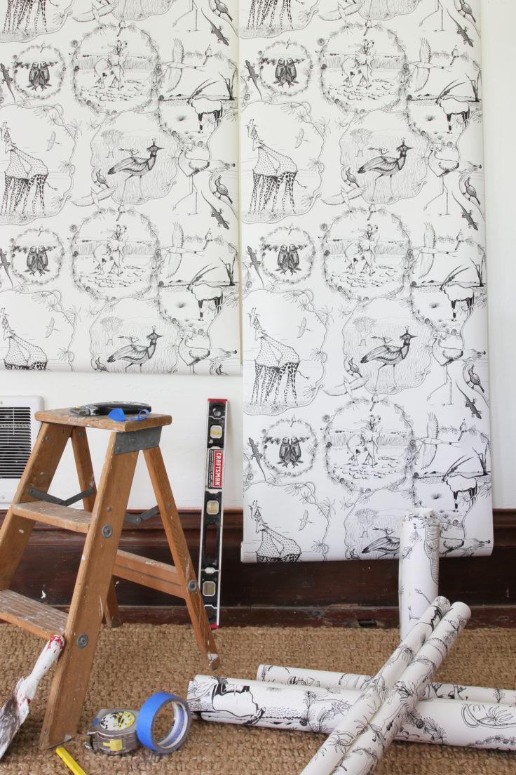 The Grit and Polish - Farmhouse Nursery Wallpaper 8.2
