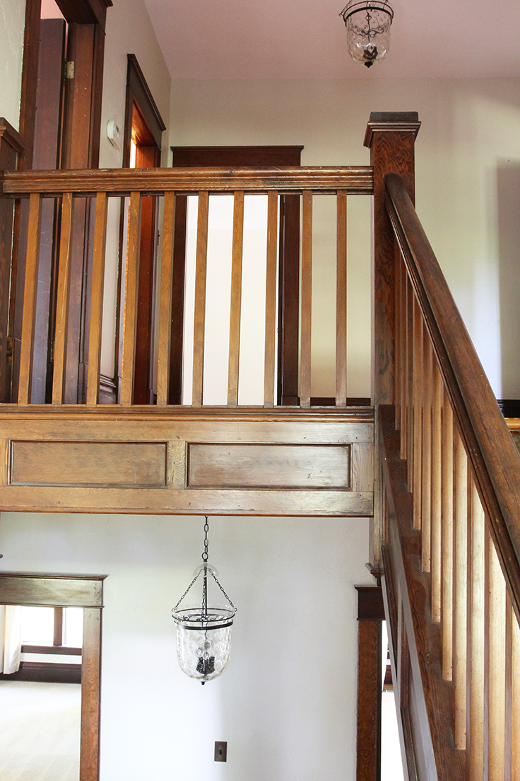 The Grit and Polish - Farmhouse Upstairs Landing