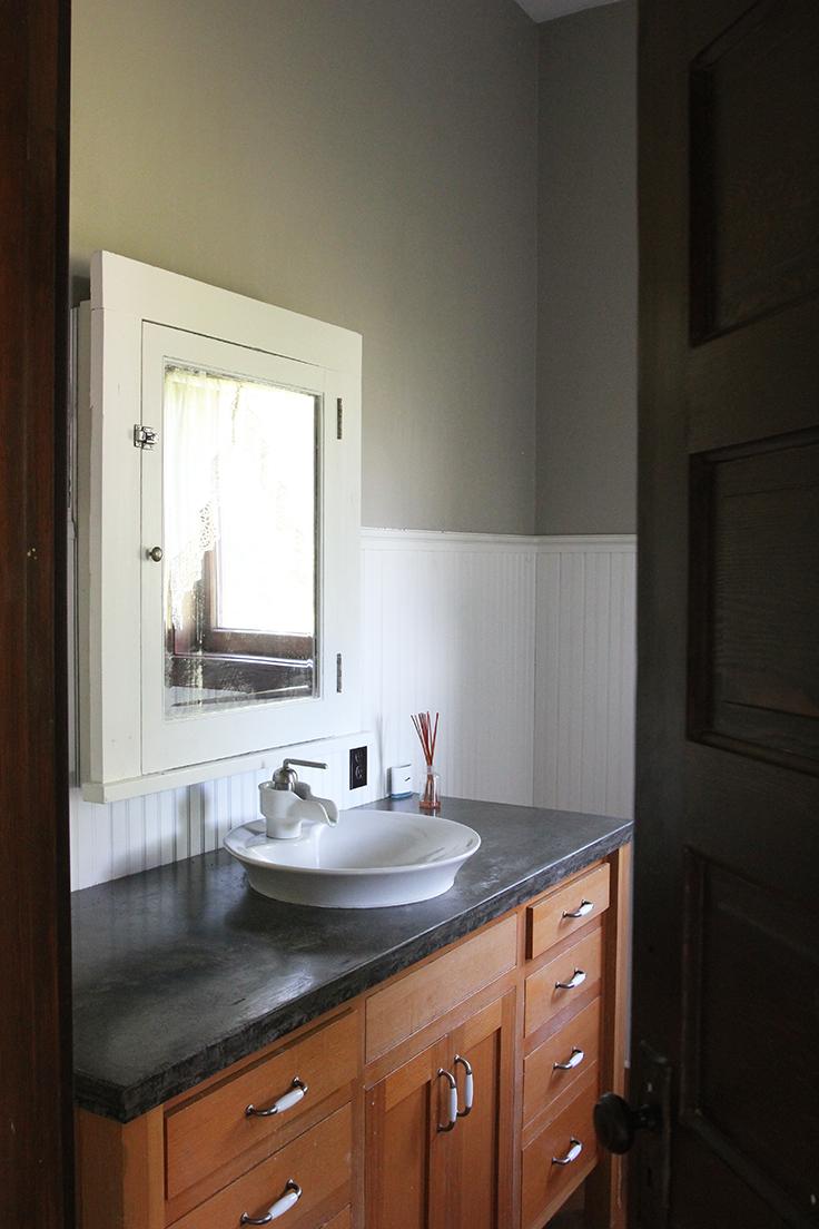 The Grit and Polish - Farmhouse Tour Bathroom Main
