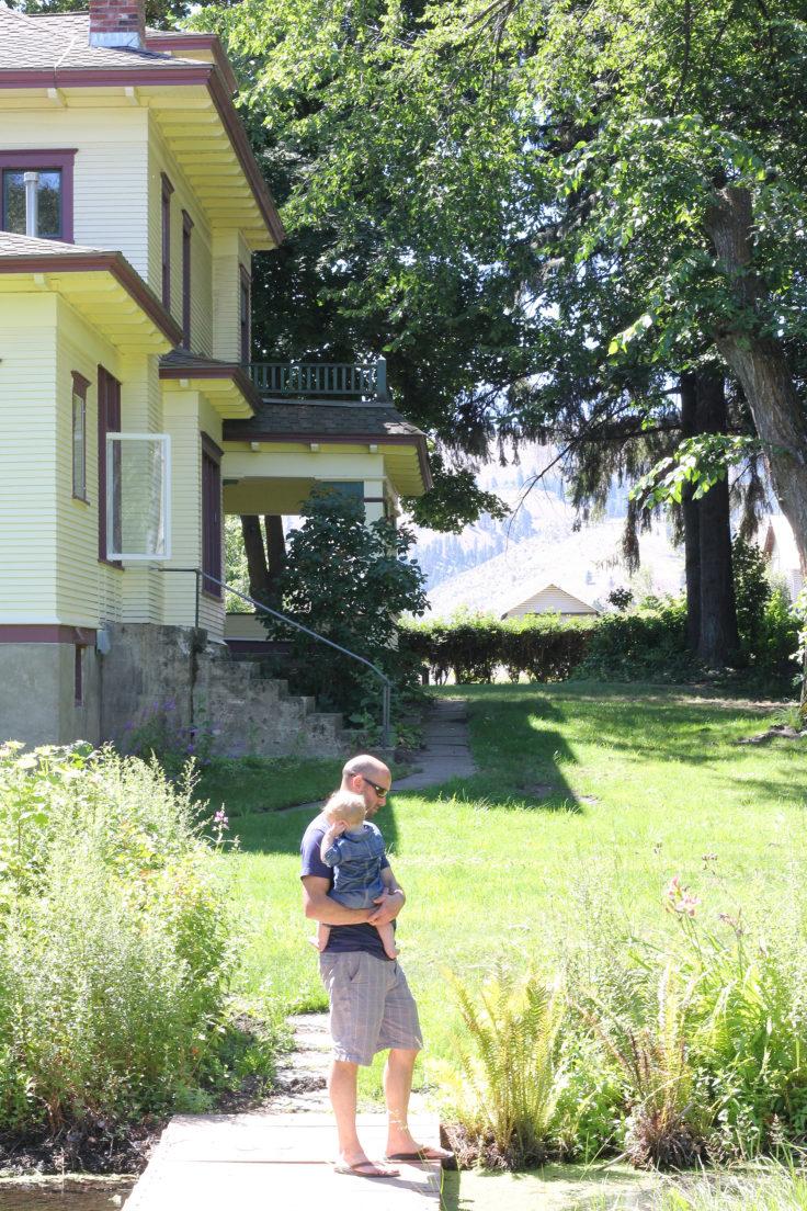 The Grit and Polish - Farmhouse Tour Bridge and House
