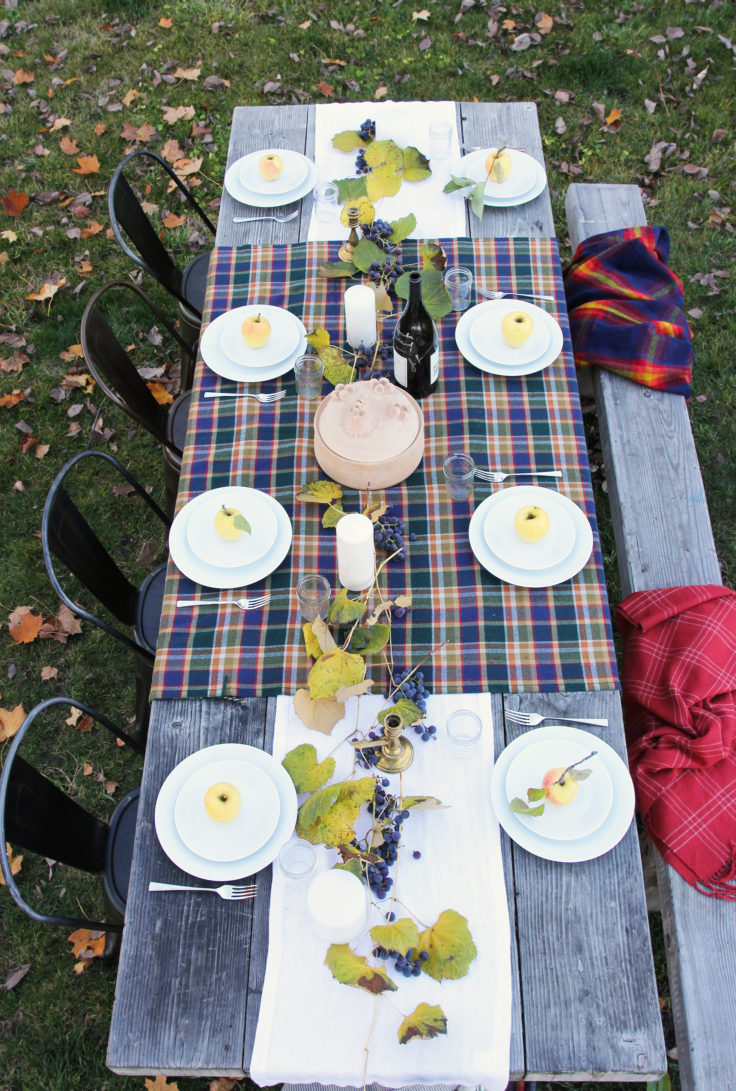 the-grit-and-polish-harvest-table-pendleton-blanket-2