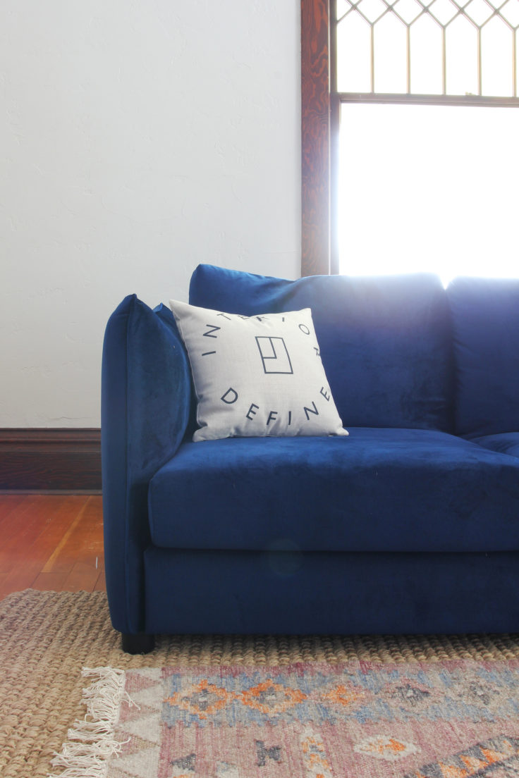 The Grit and Polish - Farmhouse ID Sofa 8