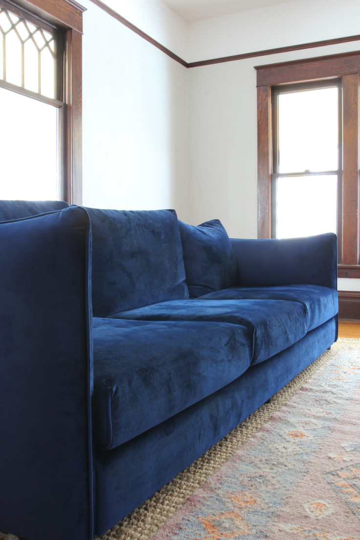 The Grit and Polish - Farmhouse ID Sofa 9
