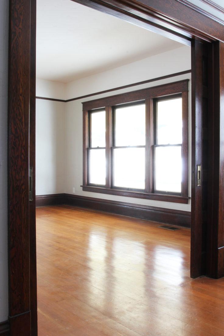 The Grit and Polish - Living Rm Hardwood Floors 2