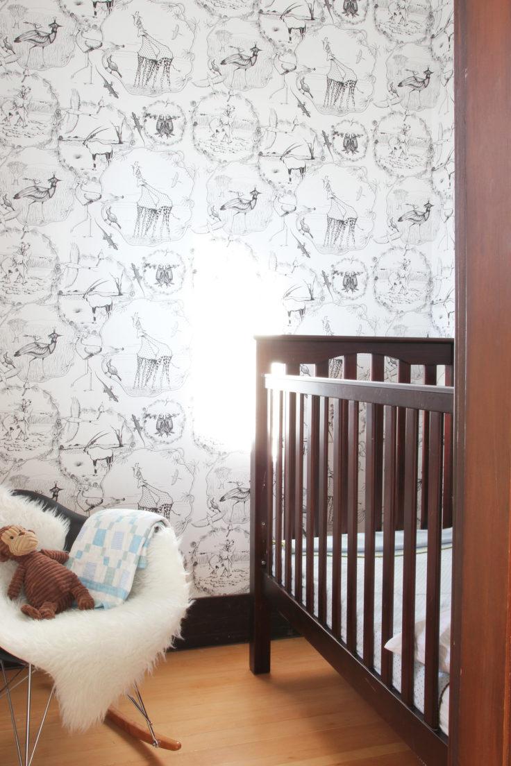 The Grit and Polish - Nursery Crib Nook